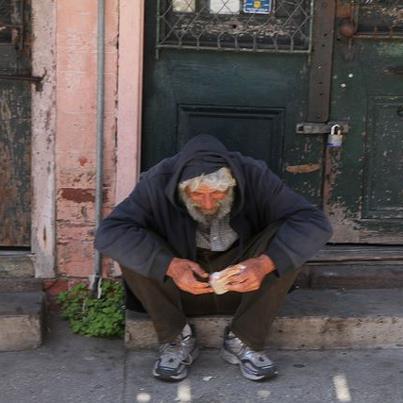 Homeless guy